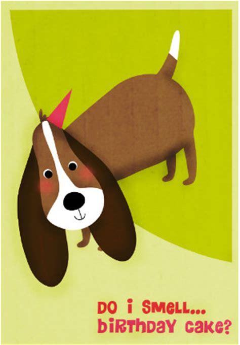 printable birthday cards dog lovers do i smell birthday cake card allfreeholidaycrafts com