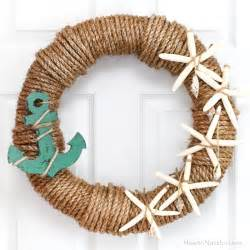 Rope nautical wreath how to nest for less