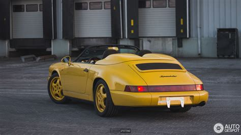 Porsche 964 Speedster by Porsche 964 Speedster 2 Marzec 2018 Autogespot