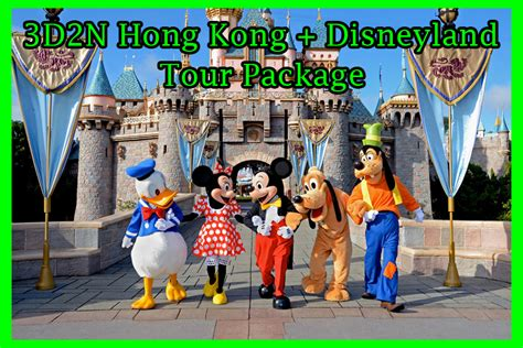 Park Hongkong Family Package 3d2n hong kong with disneyland package green earth tours