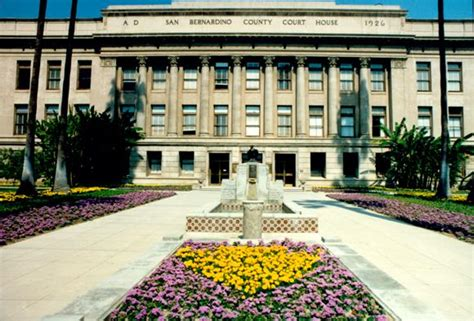 San Bernardino Courthouse Search City Of San Bernardino Buildings Of Howard E Jones