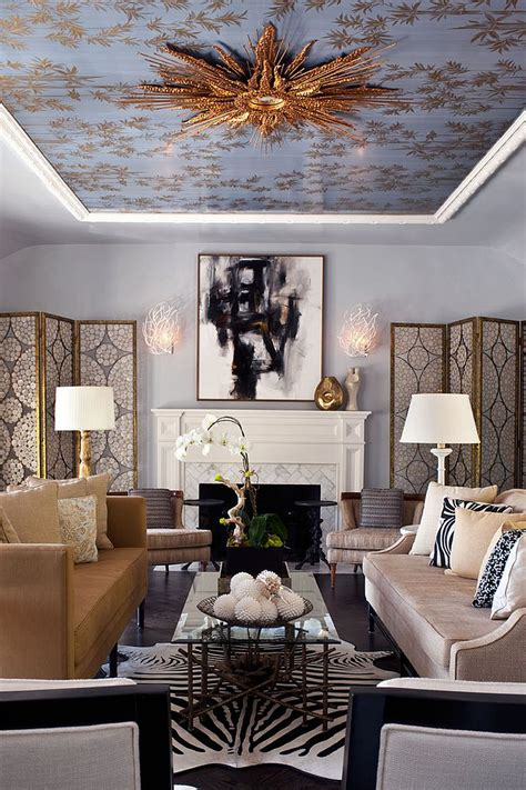 Ceiling Ls For Living Room - visual feast 10 rooms with magical multicolored ceilings