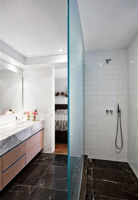 galley bathroom ideas galley avenue residence modern bathroom toronto by tact design
