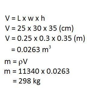 Math Skills Density Worksheet Answers