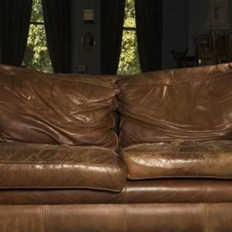 how to fix tear in leather sofa how to clean restore old leather funiture leather
