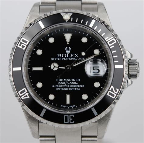 Rolex Submariner 16610 Secondhand Nr. Mint
