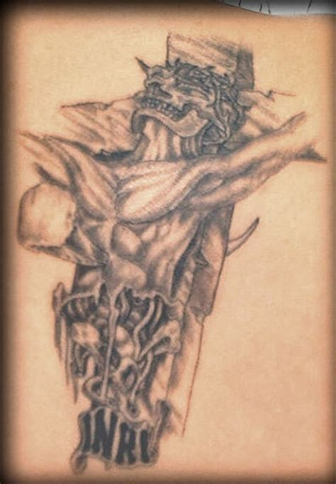 jesus tattoo on cross zodiac jesus on cross