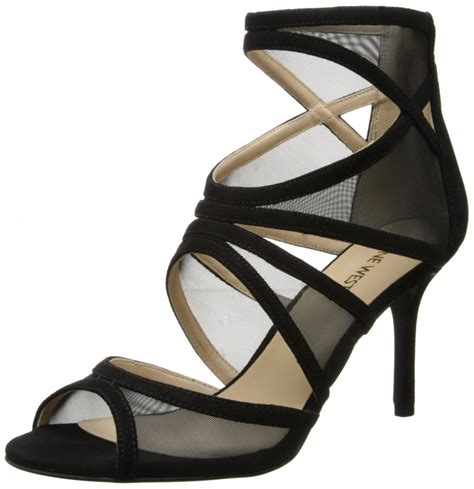 high heels nine west nine west gezzica fabric dress high heel sandal top