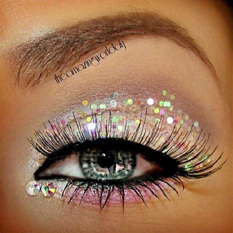 Glitter Makeup sparkling on glitter eye makeup sugarpill cosmetics and