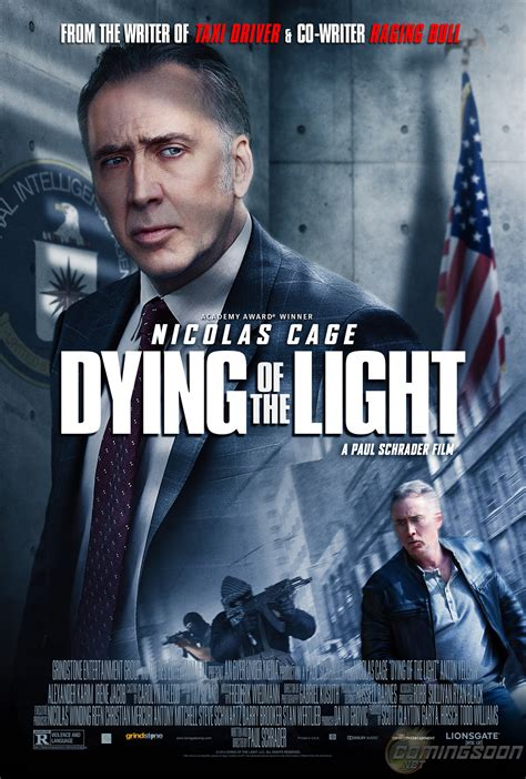 Film Nicolas Cage Dying Of The Light | exclusive the poster for dying of the light starring