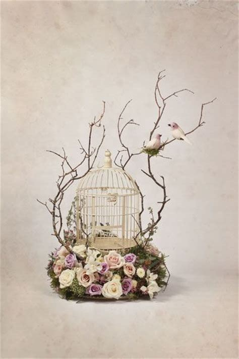 151 best images about bird cage flower deco on pinterest