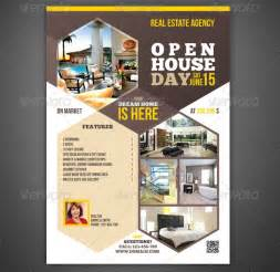 open house brochure template open house flyer template 30 free psd format