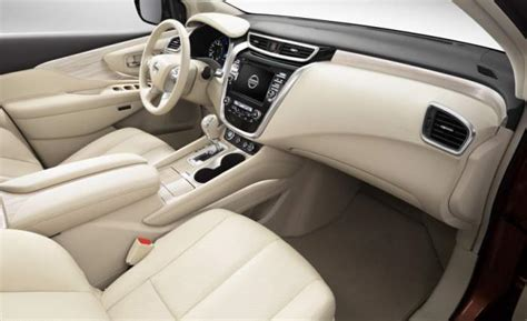 nissan murano interior 2017 black 2018 nissan murano changes redesign interior us suv
