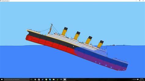 youtube ship sinking titanic sinking sinking simulator 2 alpha 1 5 youtube