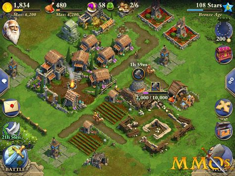 strategy game layout dominations game review mmos com