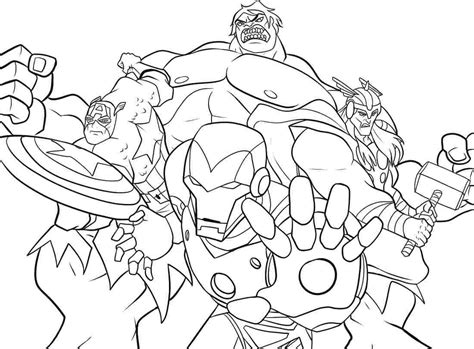 superhero avengers colouring pages printable kids boys