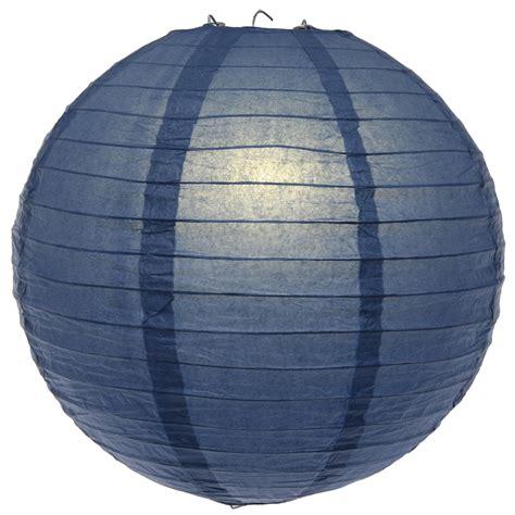 Paper Lantern - 16 inch navy blue paper lantern