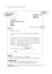 Business Letter Exercise Worksheet Teaching Worksheets Formal Letters