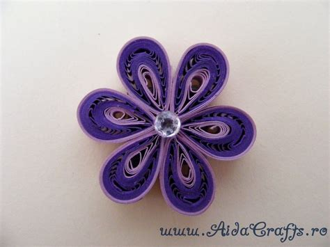 quilling tutorial beehive flower quilling floare tutorial 3 aidacrafts viyoutube