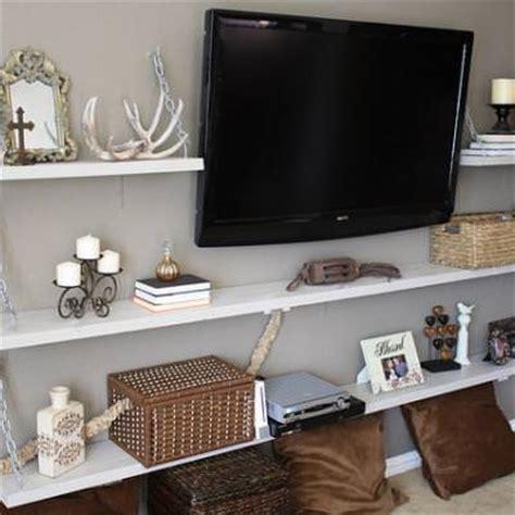 diy living room storage media room shelves diy shelving storage tip junkie