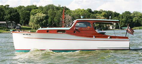 lake cabin boats for sale 1936 chris craft 28 wooden cabin cruiser for sale