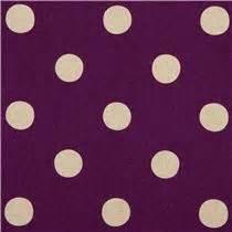 Canvas Laminating Polka Sedang purple echino polka dot laminate canvas fabric laminates fabric shop modes4u