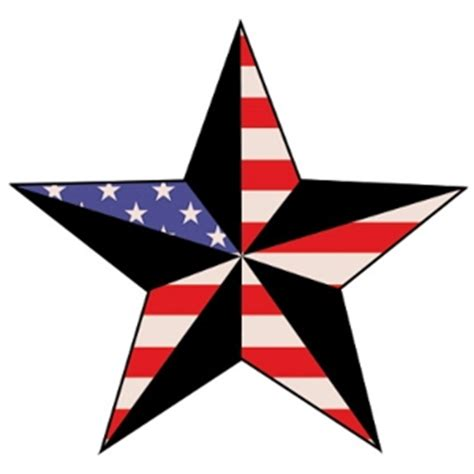 5 point star tattoo five point designs clipart best