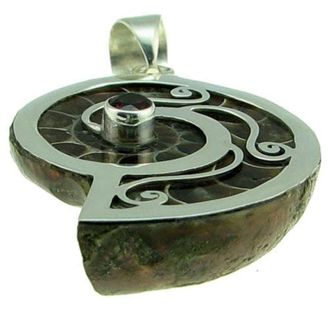 Fossil Spiral Silver 69 best images about ammolite ammonite on