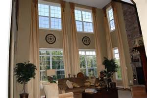 Two Story Curtains Two Story Great Room 2 Story Great Room Ideas Stacked Fireplaces
