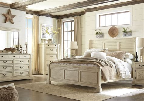 white panel bedroom set bolanburg white panel bedroom set b647 54 57 96 ashley