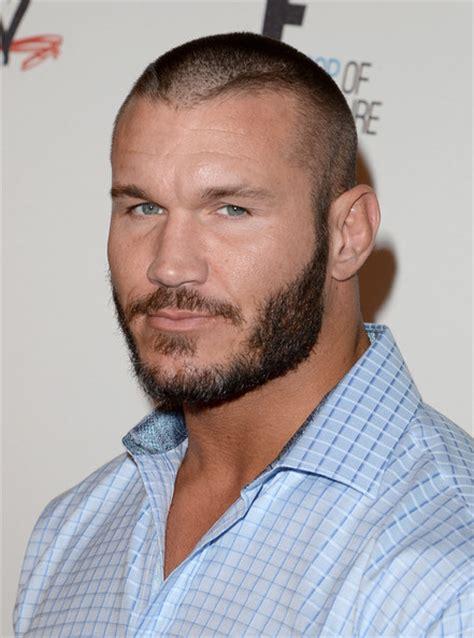 wwe randey orton hair cuts randy orton photos photos arrivals at wwe s superstars