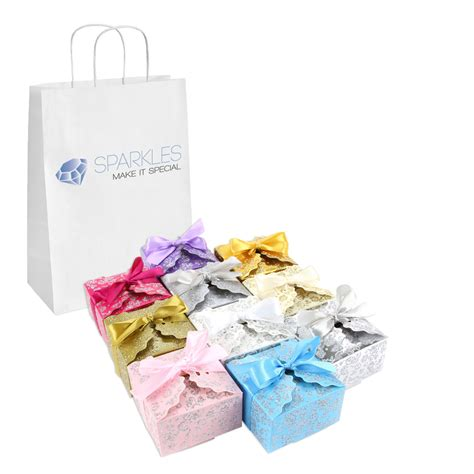 gift boxes for baby shower 50 large ribbon wedding favor gift boxes baby shower