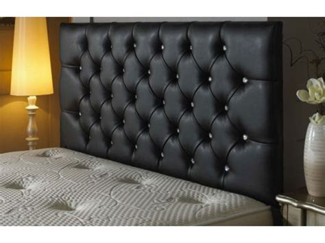 faux headboards bedford buttoned faux leather headboard