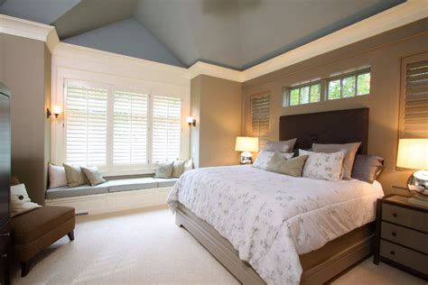 window crown molding ideas bedroom traditional with master bedroom