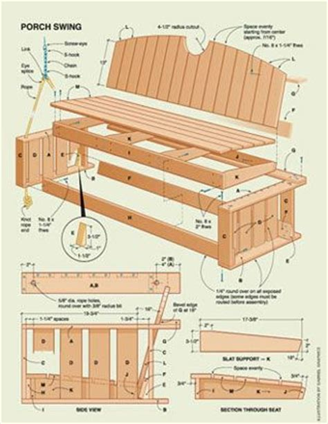 wooden porch swing plans how to make a homemade wooden porch swing woodworking
