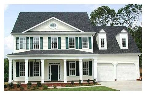 southern architectural styles southern colonial style home dream home pinterest