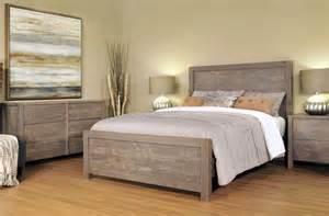 Gray Bedroom Set naomi bedroom set rustic and distressed bedroom set in light grey