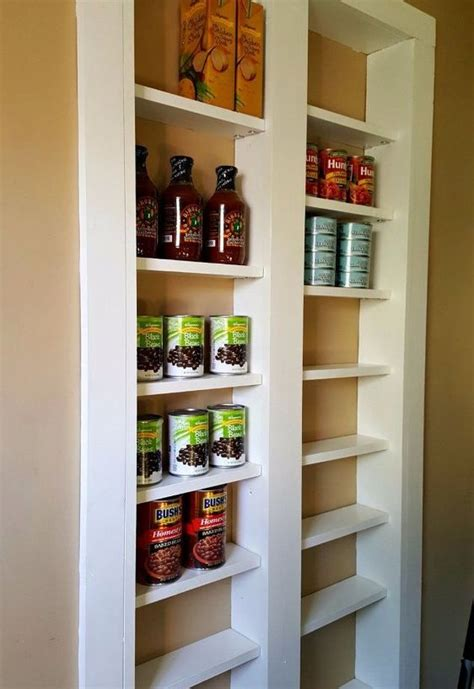 diy kitchen pantry ideas pantry between the studs hometalk