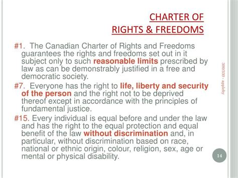 Canadian Charter Of Rights And Freedoms Section 1 by Ppt Abortion In Canada Criminal Constitutional