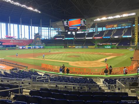 section 16 a marlins park section 16 miami marlins rateyourseats com