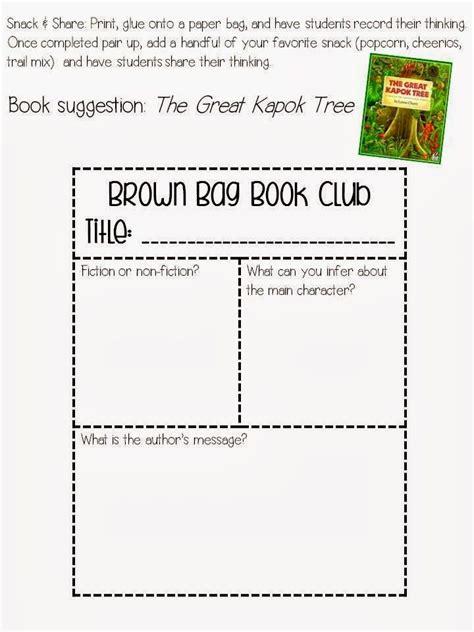 brown bag book report brown paper bag book reports