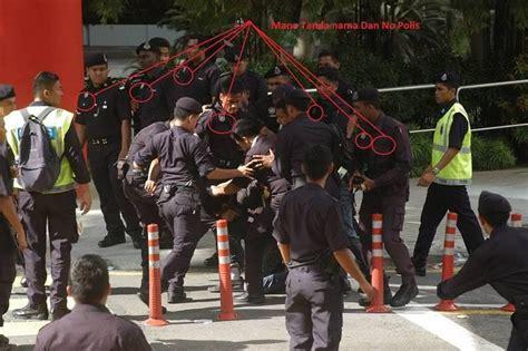 Baju Istiadat Apr Pdrm penjenayah suka pakai baju hitam