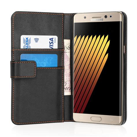 Samsung Galaxy Note 7 Leather samsung galaxy note 7 leather effect wallet black