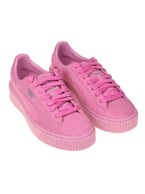 sneakers platform pink modesens