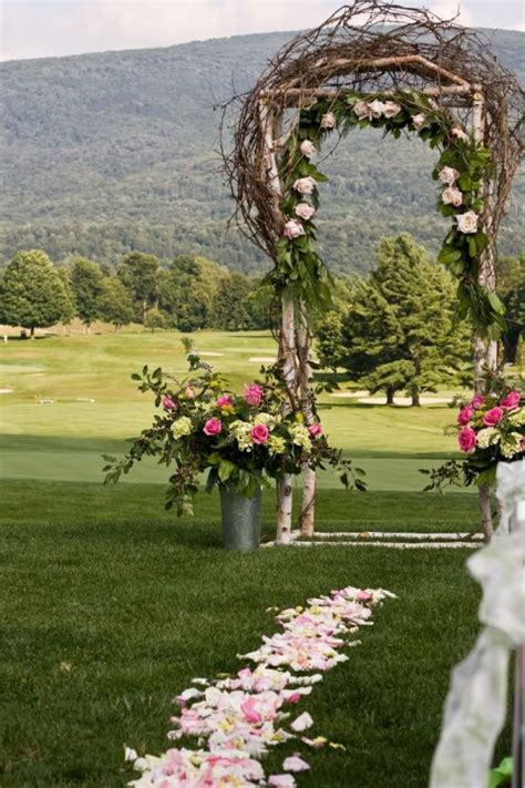 69 outdoor wedding aisle decor ideas happywedd com