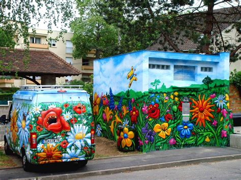 free style painting free style graffiti flower flowers 2010 mery