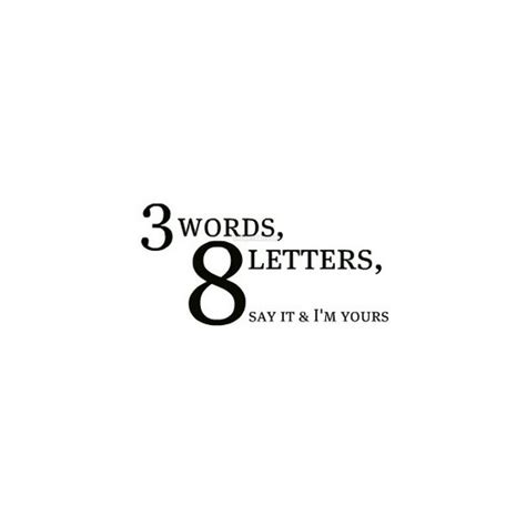 4 Letter Words Quotes three words eight letters more than sayings