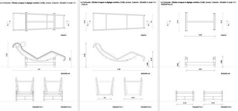 chaise dwg divano chaise longue dimensioni idee per il design della