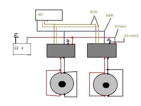 how to wire subs and diagram wiring diagram