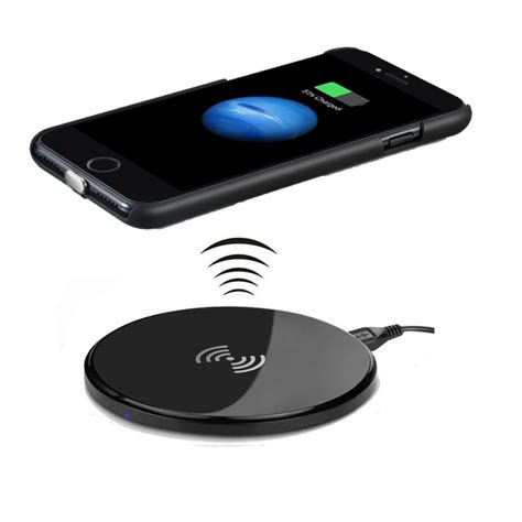 Iphone 7 Plus Not Charging by Qi Wireless Charging Charger For Iphone 7 7 Plus Including Qi Charger Receiver Cover Qi Wireless